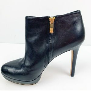 Vince Camuto Black Leather VC-Dira High Heels